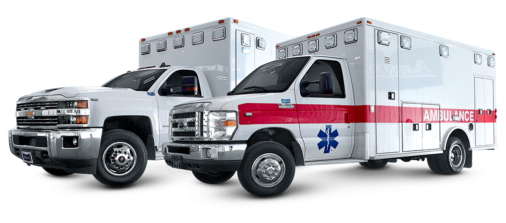 New ambulances for sale at Arrow Ambulances