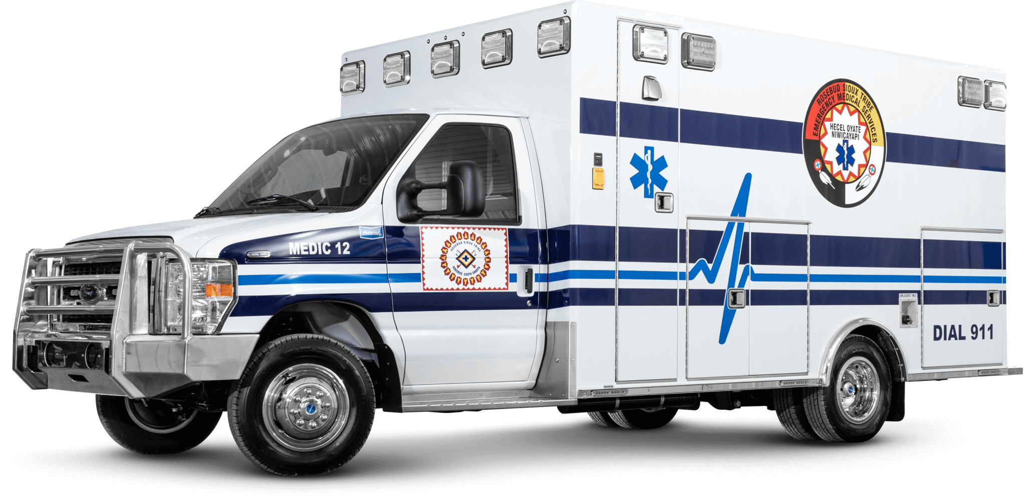 Rosebud Sioux Tribe Ford E450 Type 3 Ambulance
