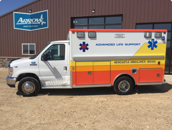 2018 Ford E350 Type 3 Ambulance