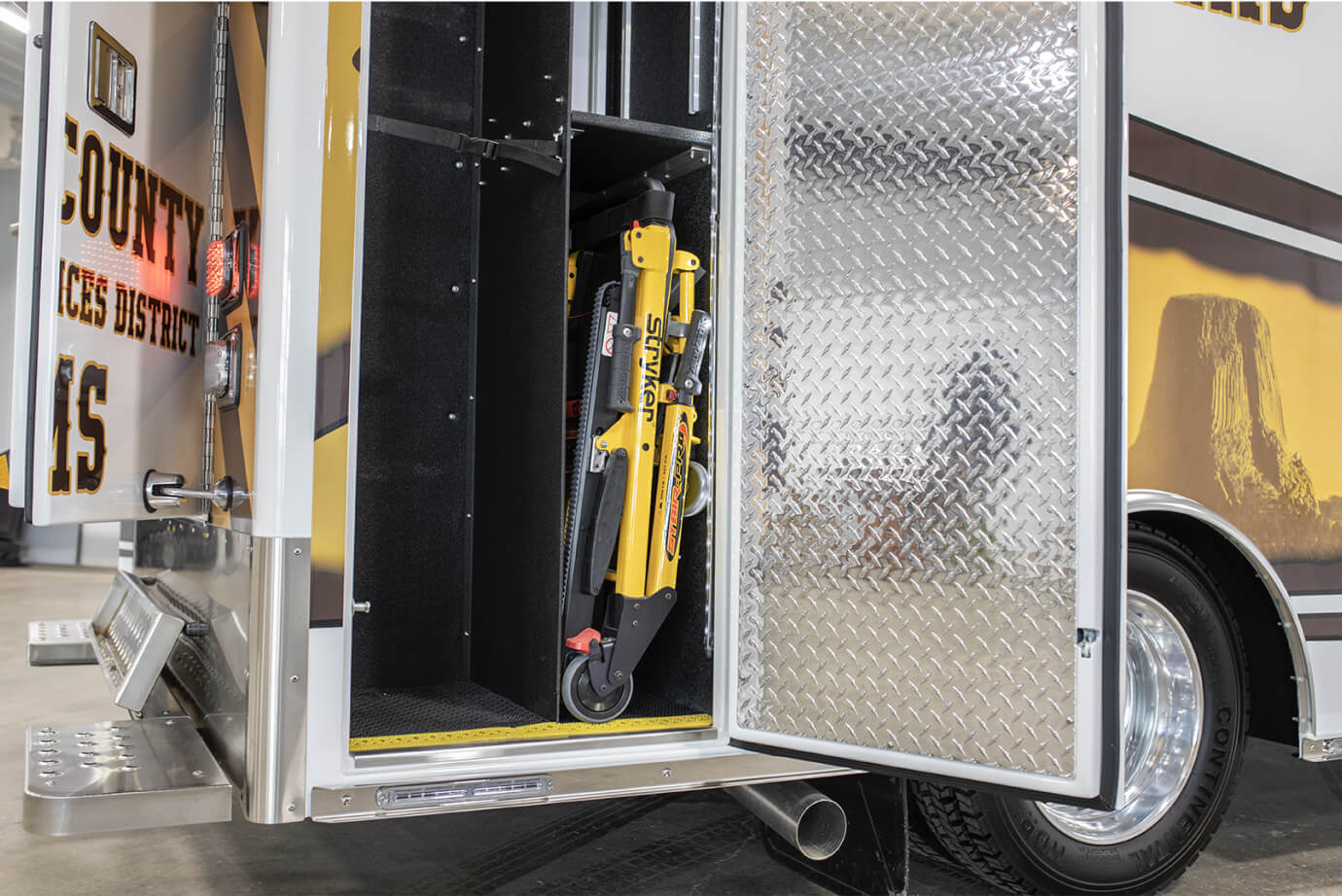 Ambulance Storage Access