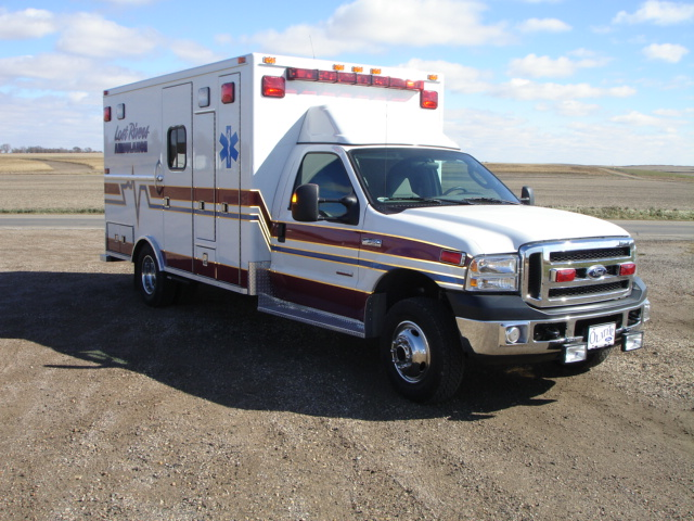 Ambulance delivered to Lost Rivers EMT's