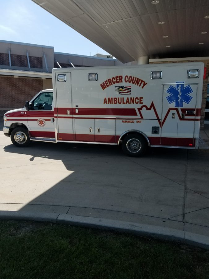 2018 Ford E450 Type 3 Ambulance delivered to Mercer County Ambulance in Princeton, MO
