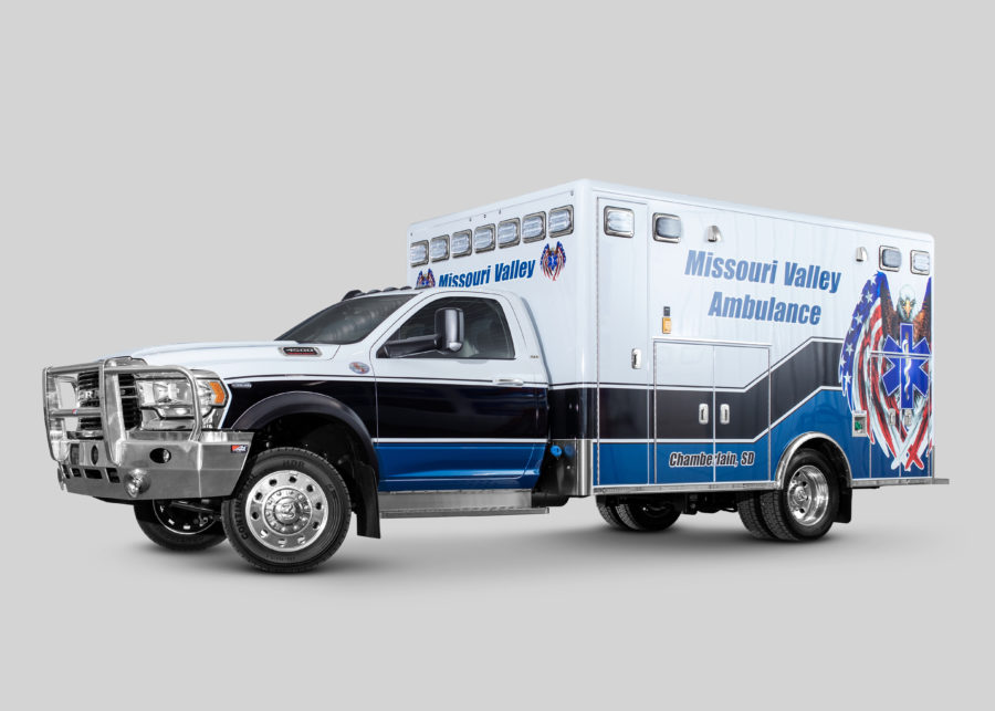 Ambulance delivered to Missouri Valley Ambulance Service