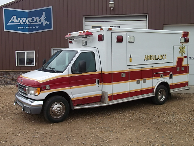 2002 Ford E450 Type 3 Ambulance For Sale