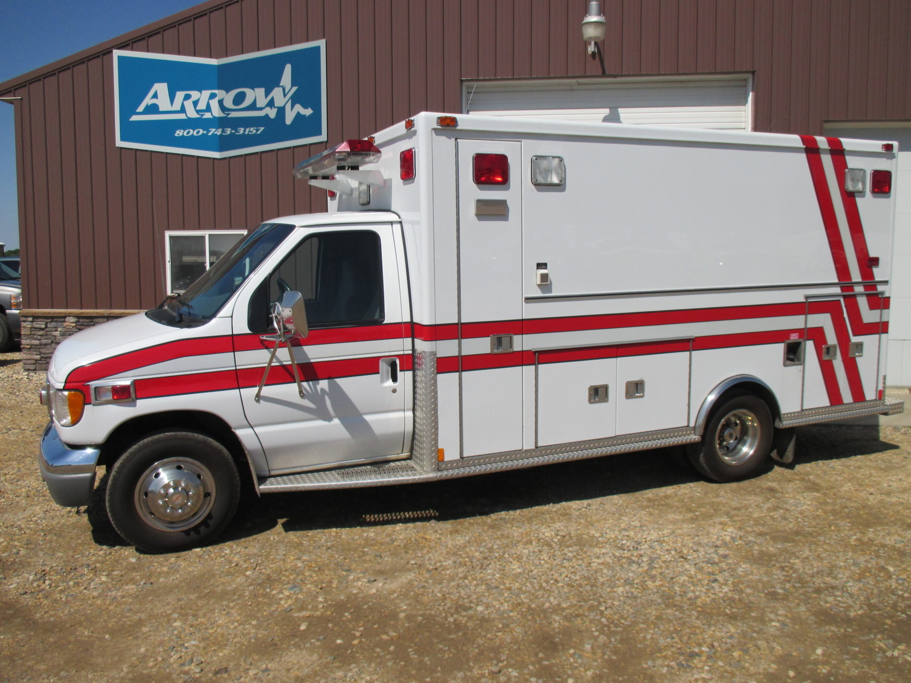 1997 Ford E450 Type 3 Ambulance For Sale – Picture 1