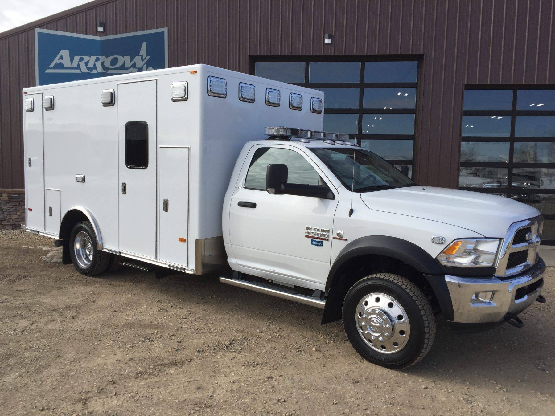2017 Ram 4500 4x4 Heavy Duty Ambulance For Sale – Picture 1