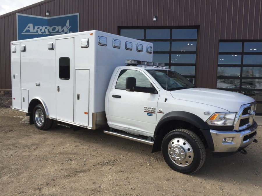 2017 Ram 4500 Heavy Duty 4x4 Ambulance For Sale