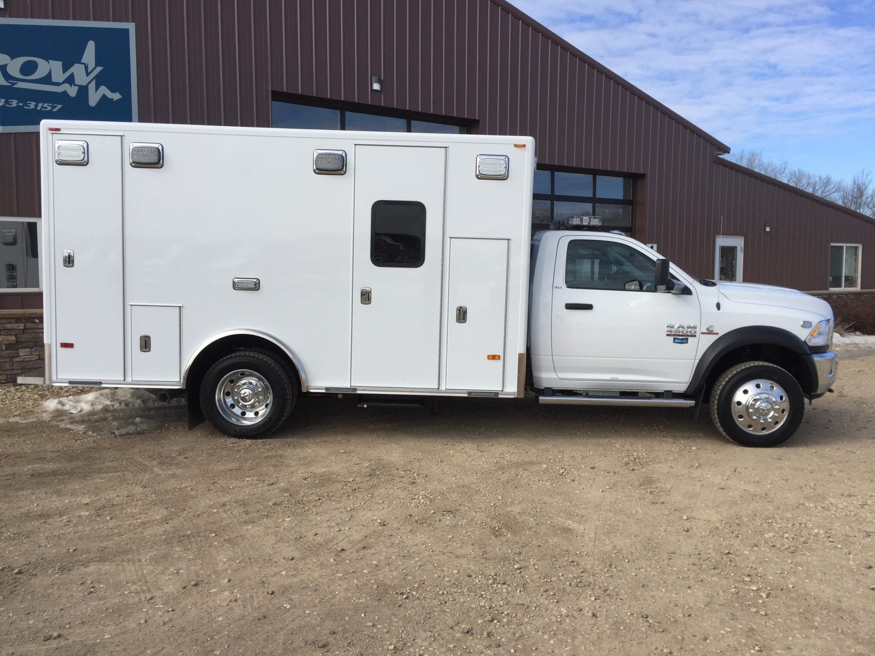 2017 Ram 4500 4x4 Heavy Duty Ambulance For Sale – Picture 5