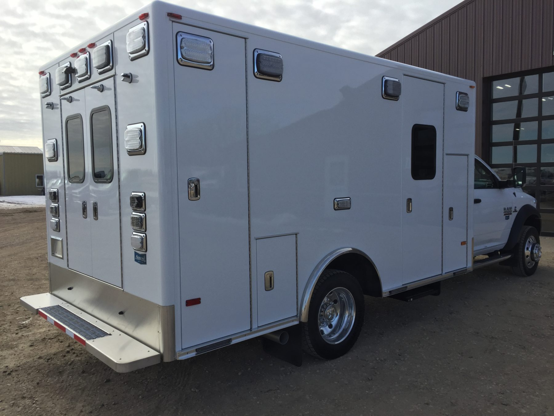 2017 Ram 4500 4x4 Heavy Duty Ambulance For Sale – Picture 11