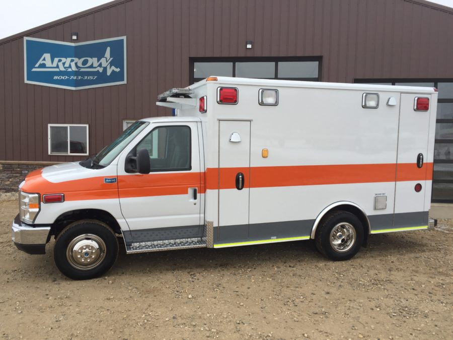 2019 Ford E350 Type 3 Ambulance delivered to Metro Medical Services in Loves Park , IL