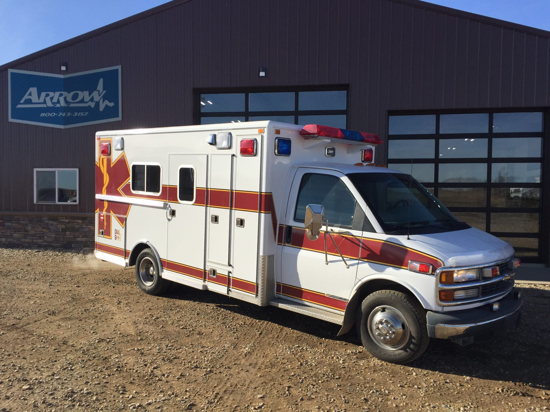 1998 Chevrolet G3500 Type 3 Ambulance For Sale – Picture 4