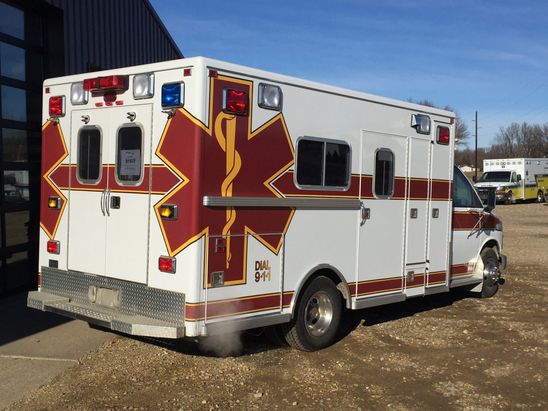1998 Chevrolet G3500 Type 3 Ambulance For Sale – Picture 5