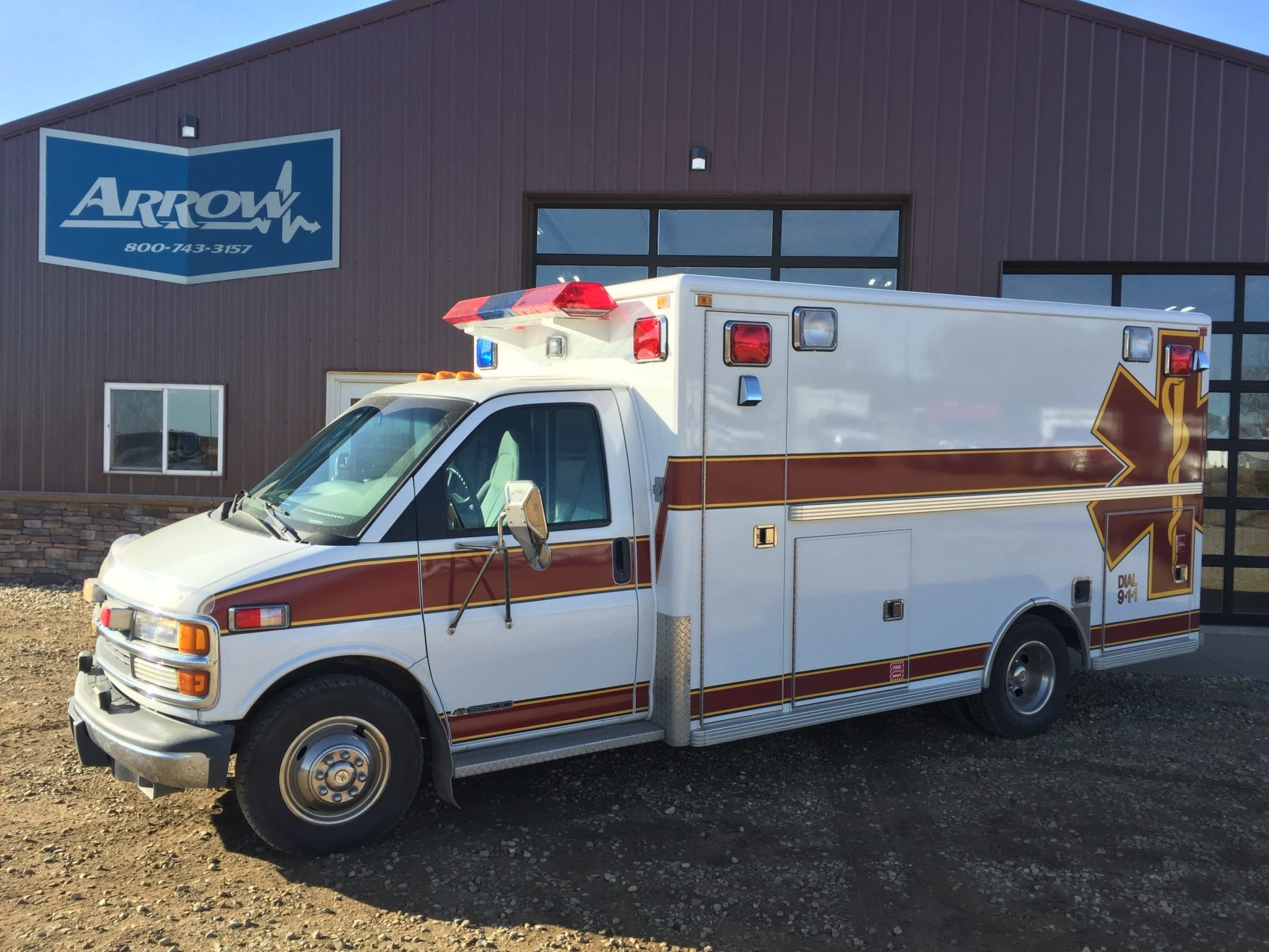 1998 Chevrolet G3500 Type 3 Ambulance For Sale – Picture 1