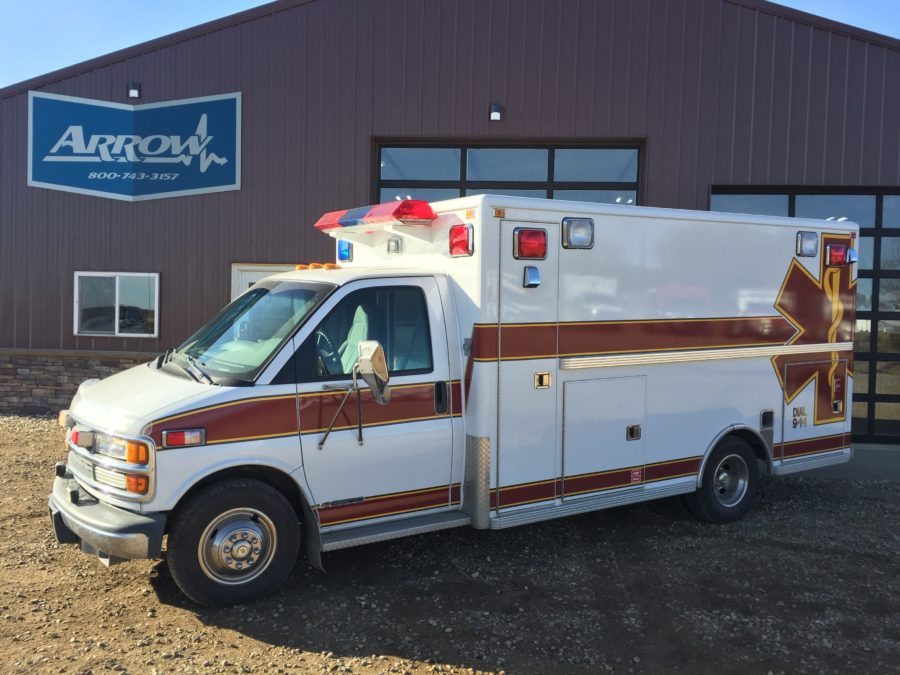 1998 Chevrolet G3500 Type 3 Ambulance For Sale