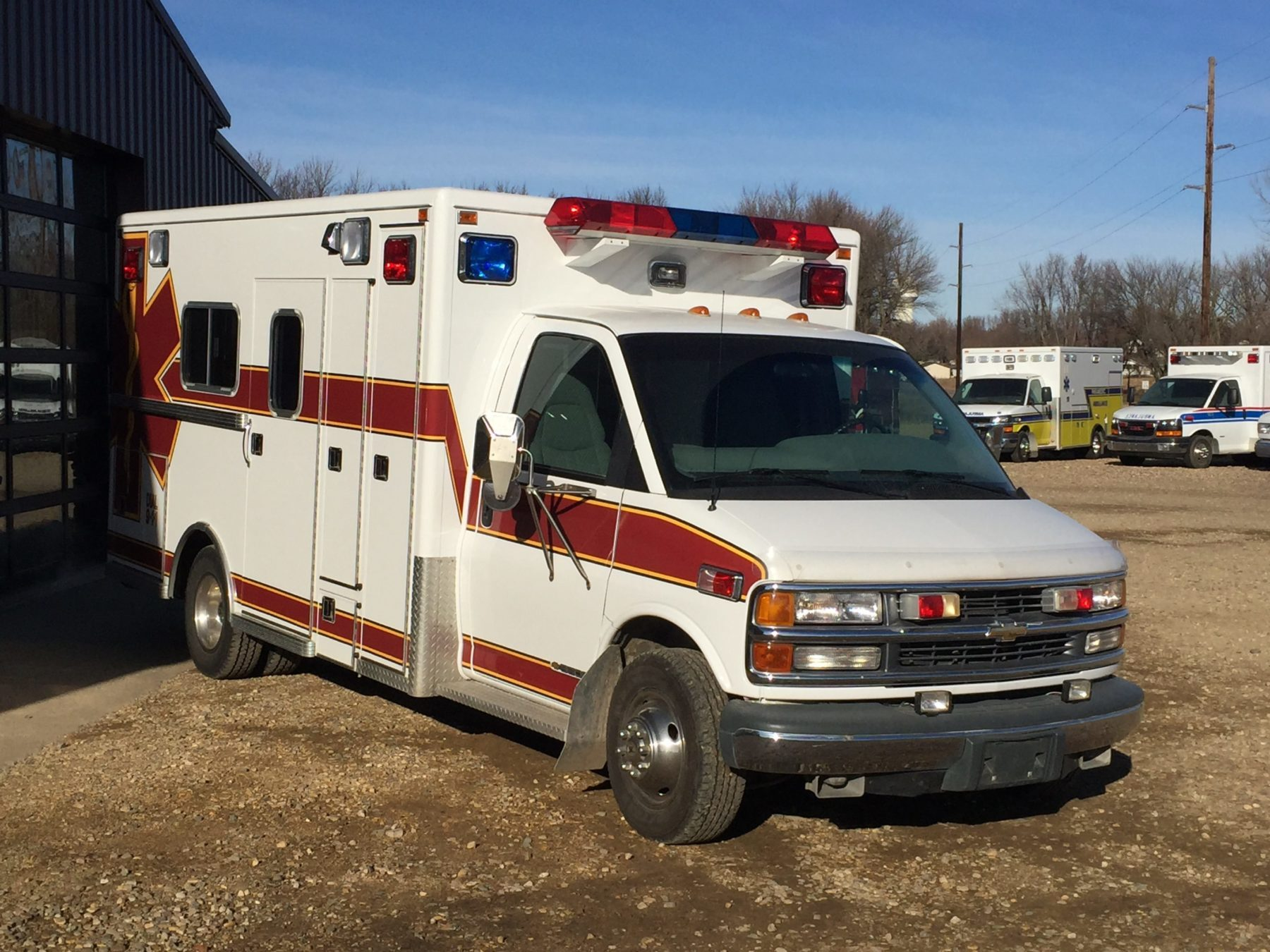 1998 Chevrolet G3500 Type 3 Ambulance For Sale – Picture 6
