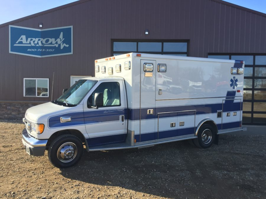 2000 Ford E450 Type 3 Ambulance For Sale