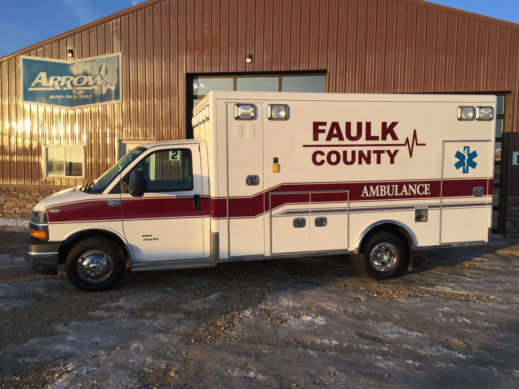 2019 Chevrolet G4500 Type 3 Ambulance For Sale – Picture 1