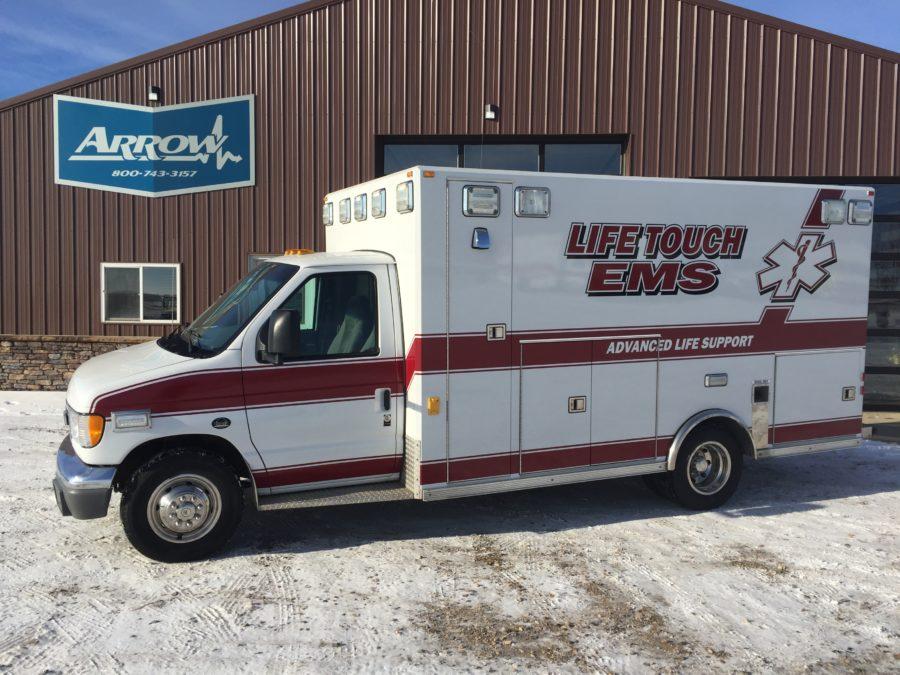 2001 Ford E450 Type 3 Ambulance