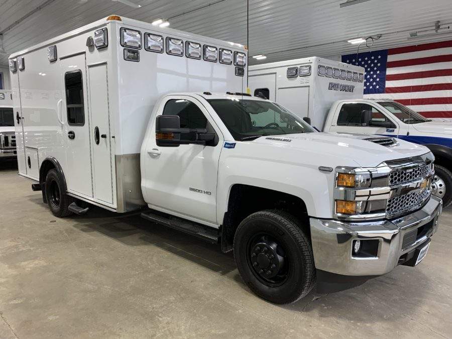 2019 Chevrolet K3500 4x4 Type 1 Ambulance For Sale