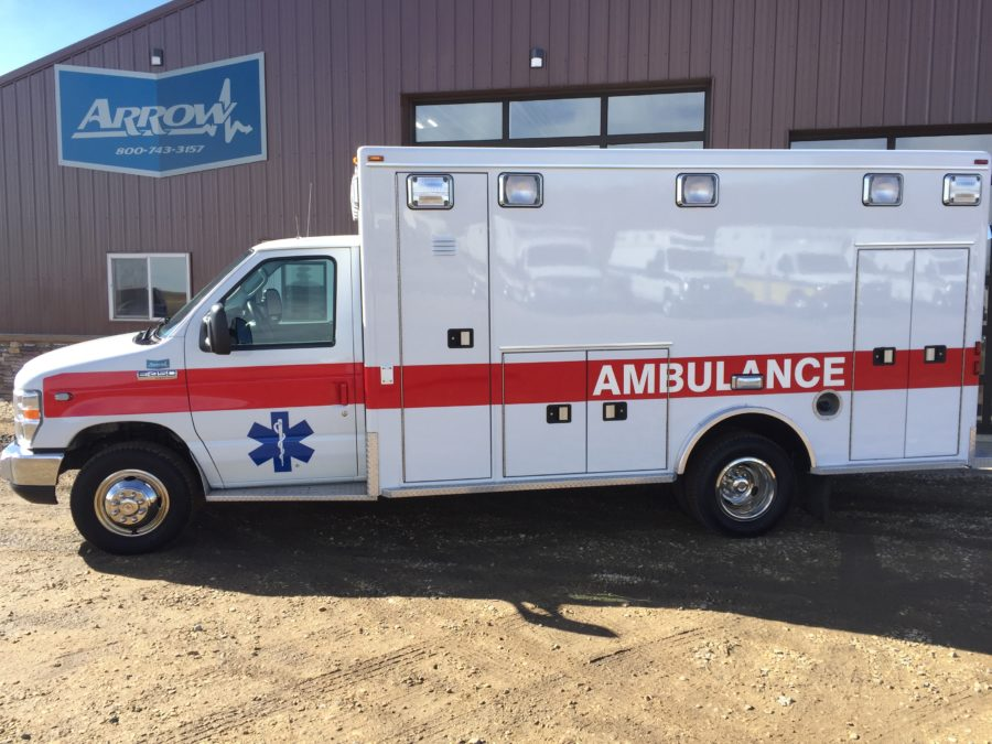 2012 Ford E450 Type 3 Ambulance delivered to Campton-Thornton Fire Rescue in Campton, NH
