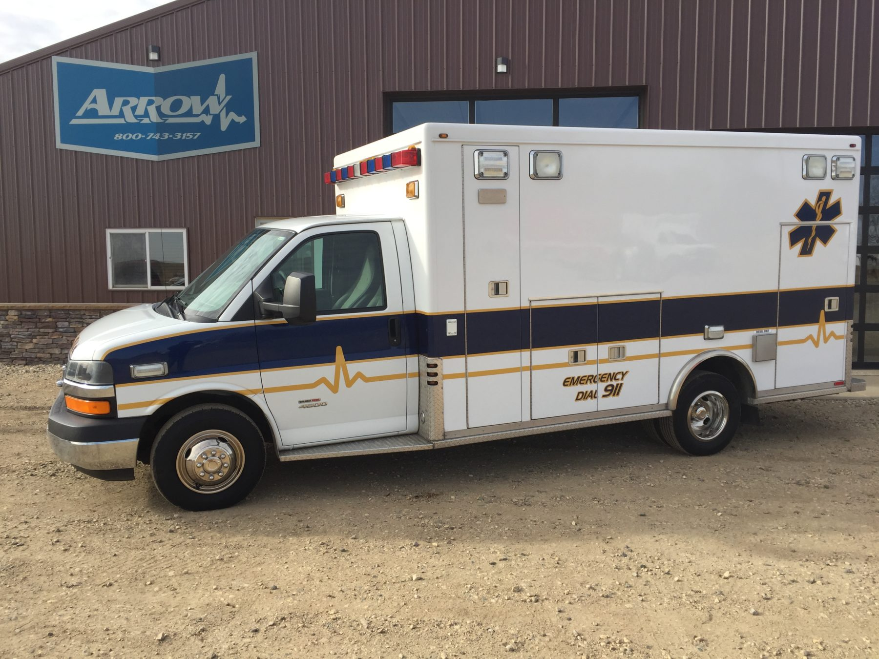 2010 Chevrolet G4500 Type 3 Ambulance For Sale – Picture 1