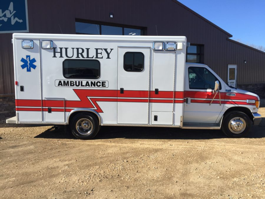 2000 Ford E450 Type 3 Ambulance