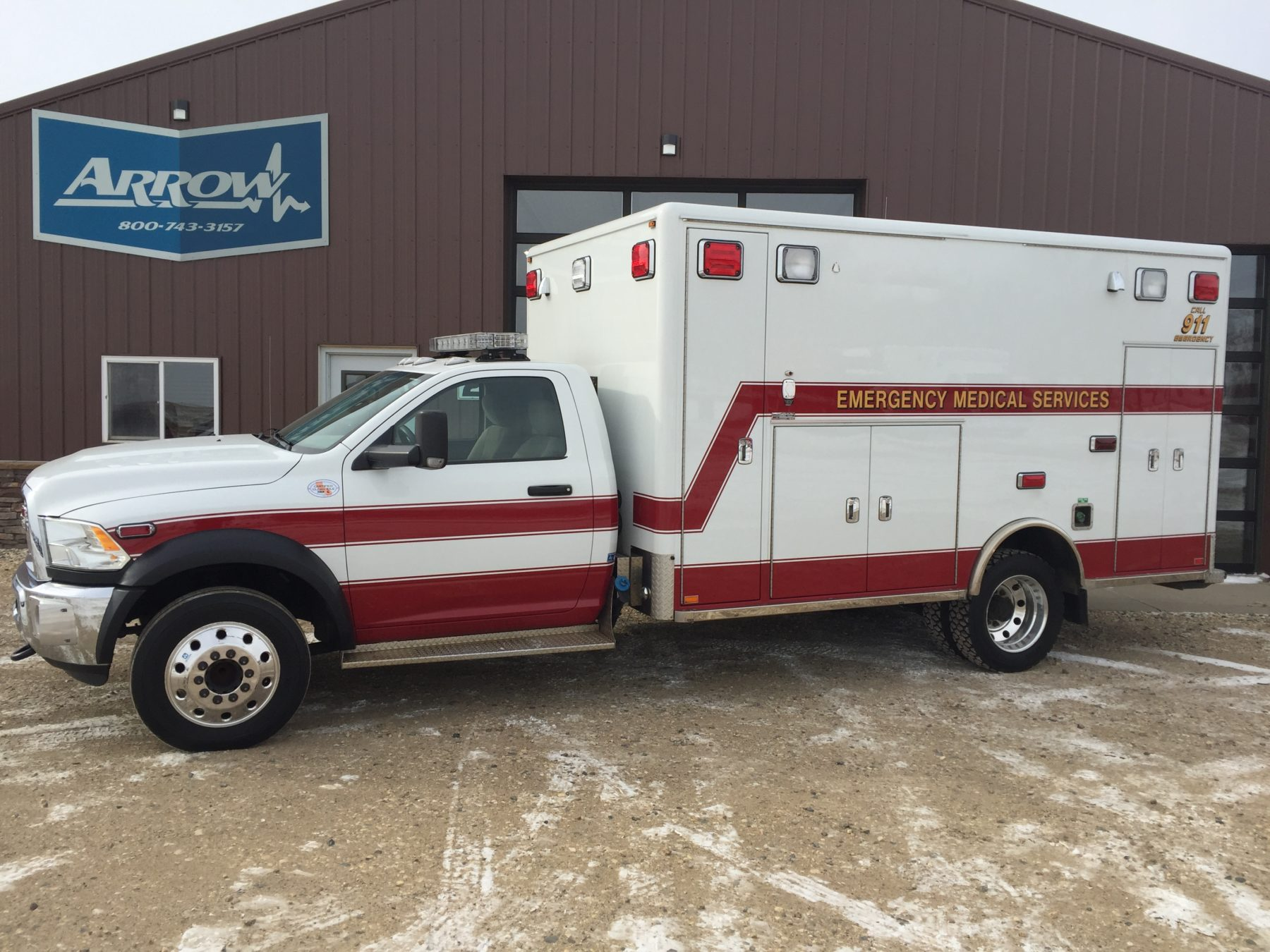 2012 Dodge 4500 Type 1 Ambulance For Sale – Picture 1
