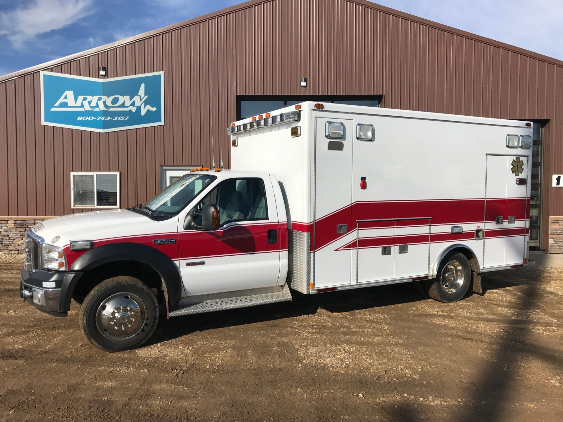 2007 Ford F450 Type 1 Ambulance For Sale – Picture 1