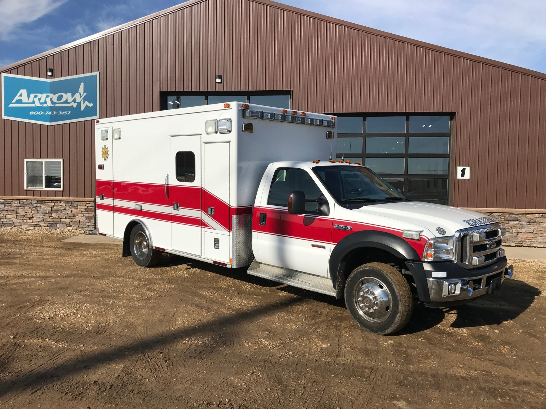 2007 Ford F450 Type 1 Ambulance For Sale – Picture 3