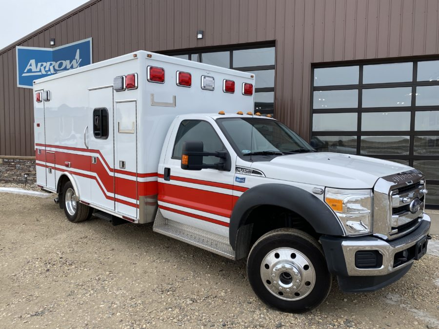 2015 Ford F450 4x4 Heavy Duty Ambulance For Sale