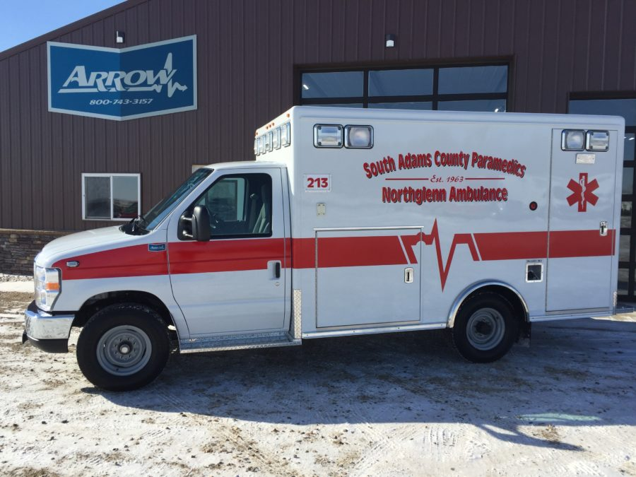 Ambulance delivered to Northglenn Ambulance