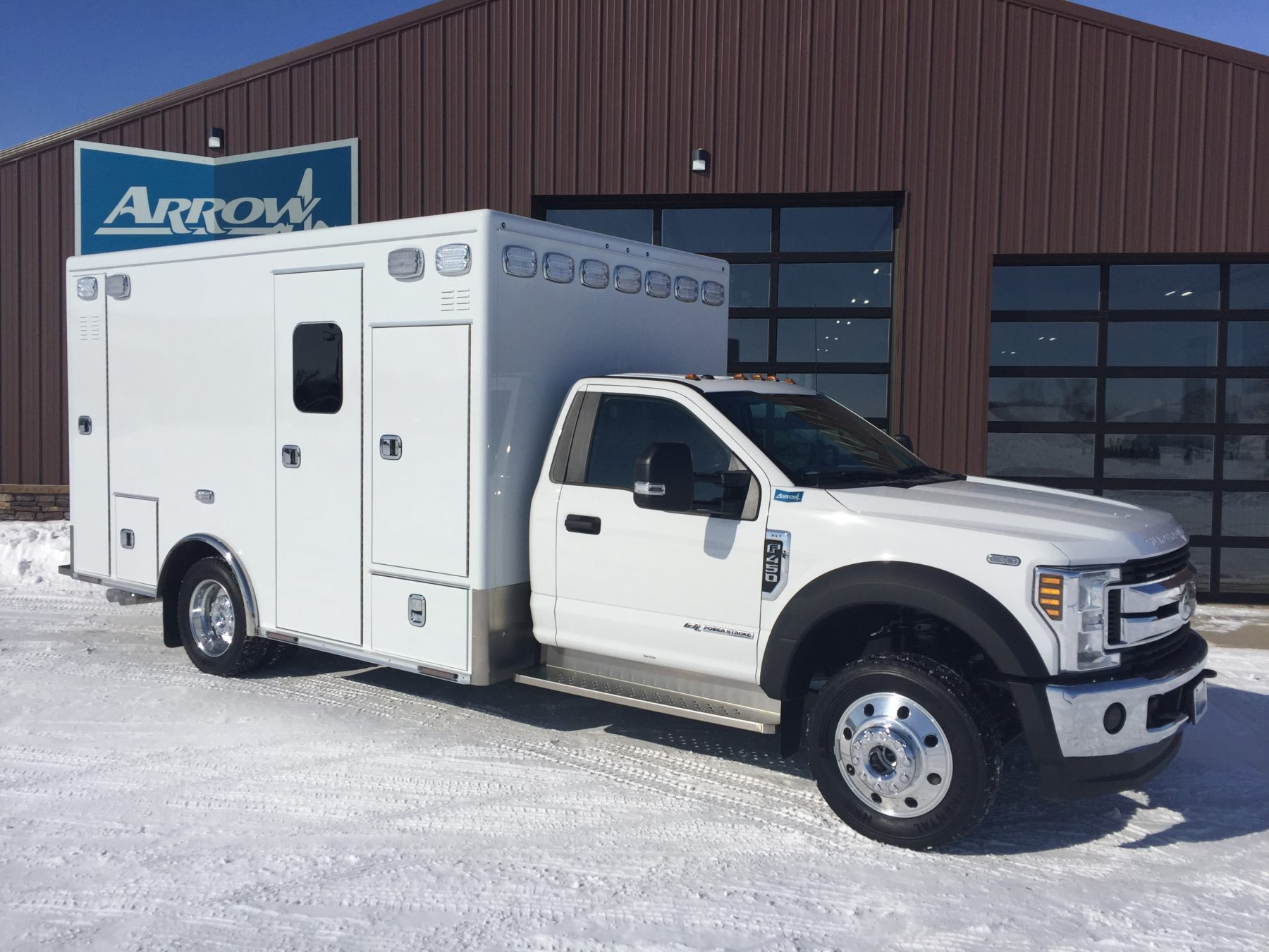 2019 Ford F450 4x4 Heavy Duty Ambulance For Sale – Picture 3