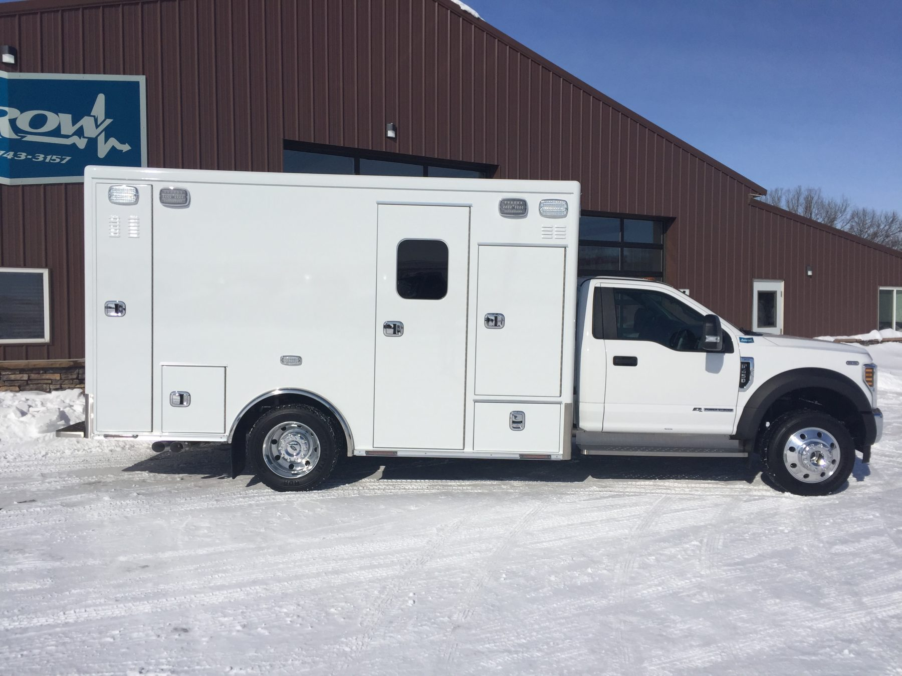 2019 Ford F450 4x4 Heavy Duty Ambulance For Sale – Picture 4