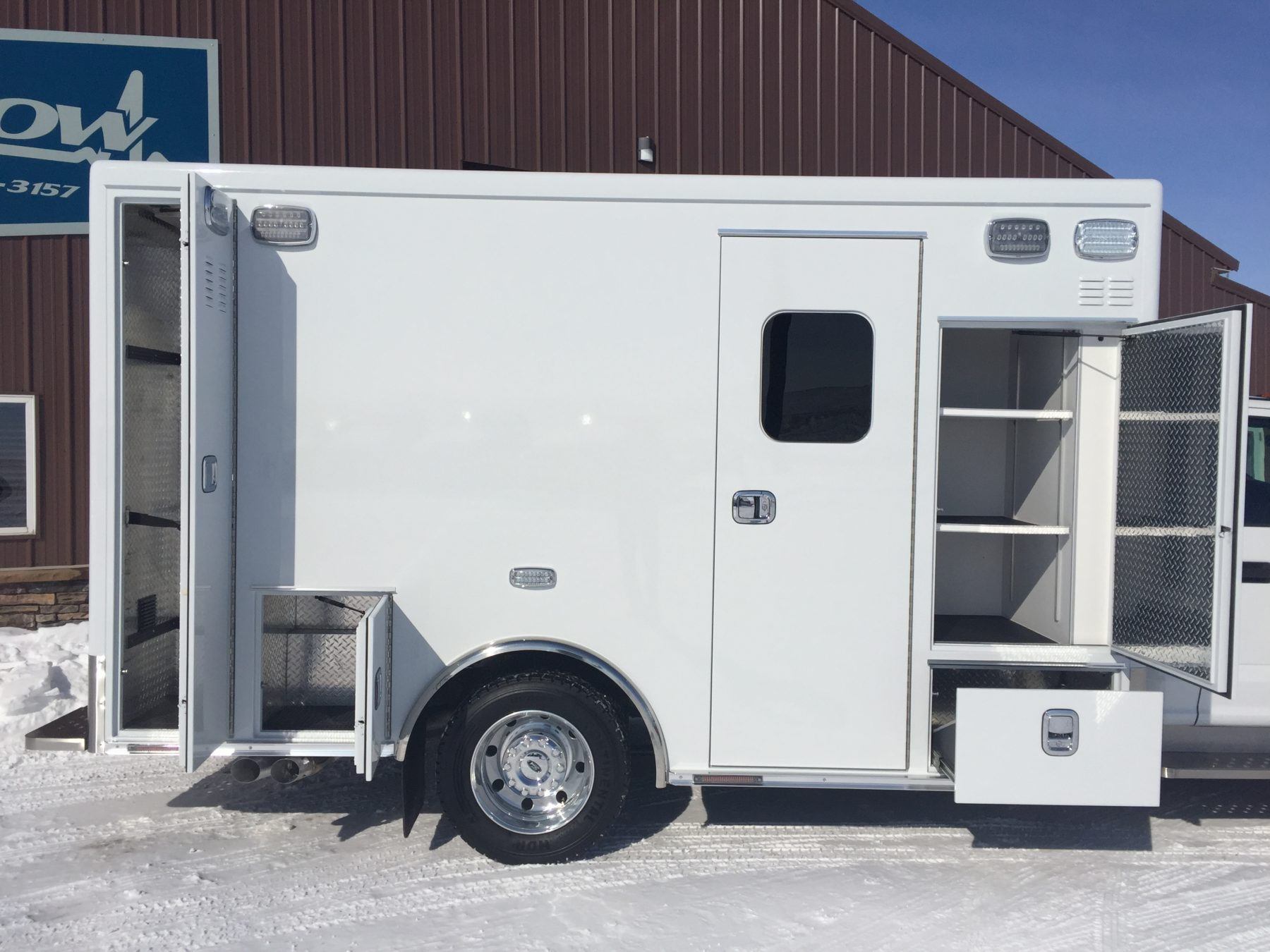 2019 Ford F450 4x4 Heavy Duty Ambulance For Sale – Picture 5