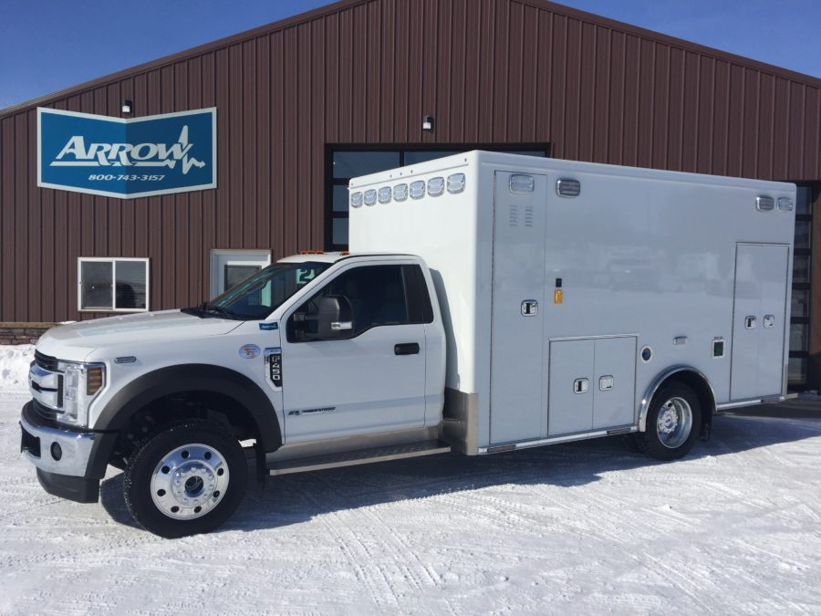2019 Ford F450 4x4 Heavy Duty Ambulance For Sale