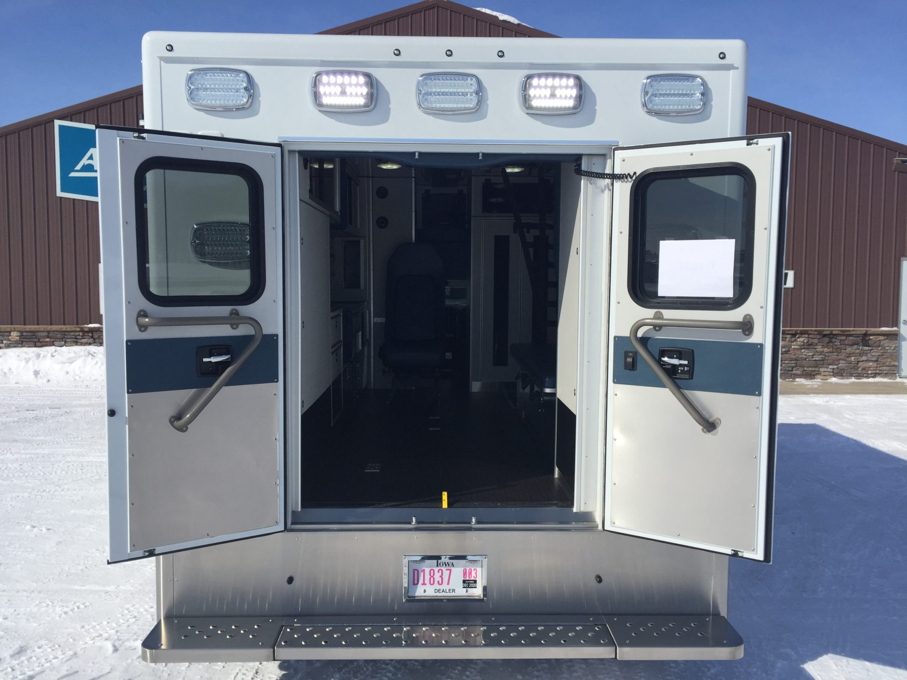 2019 Ford F450 4x4 Heavy Duty Ambulance For Sale – Picture 9