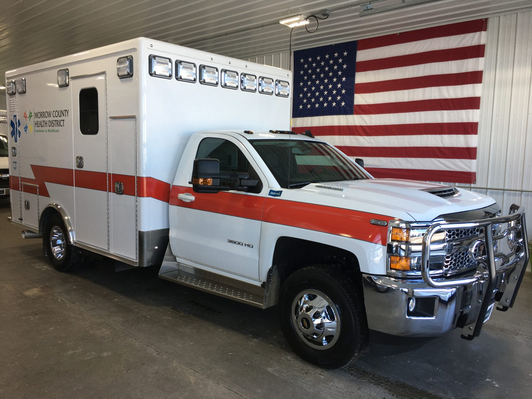 2019 Chevrolet K3500 4x4 Type 1 Ambulance For Sale – Picture 1
