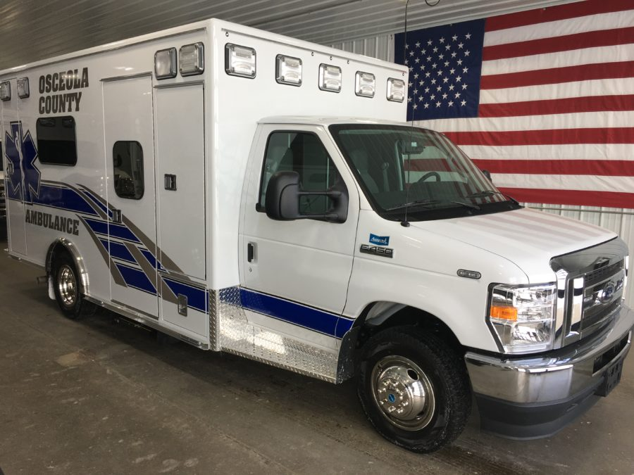 Ambulance delivered to Osceola County EMS