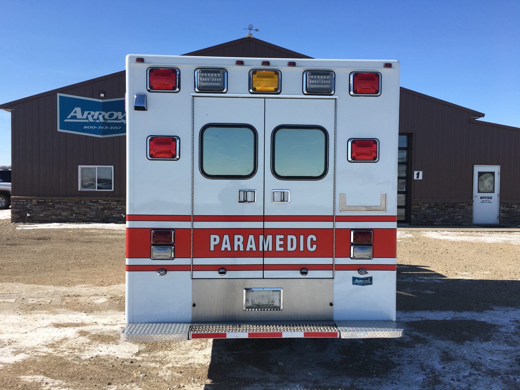 2015 Ford F450 4x4 Heavy Duty Ambulance For Sale – Picture 8