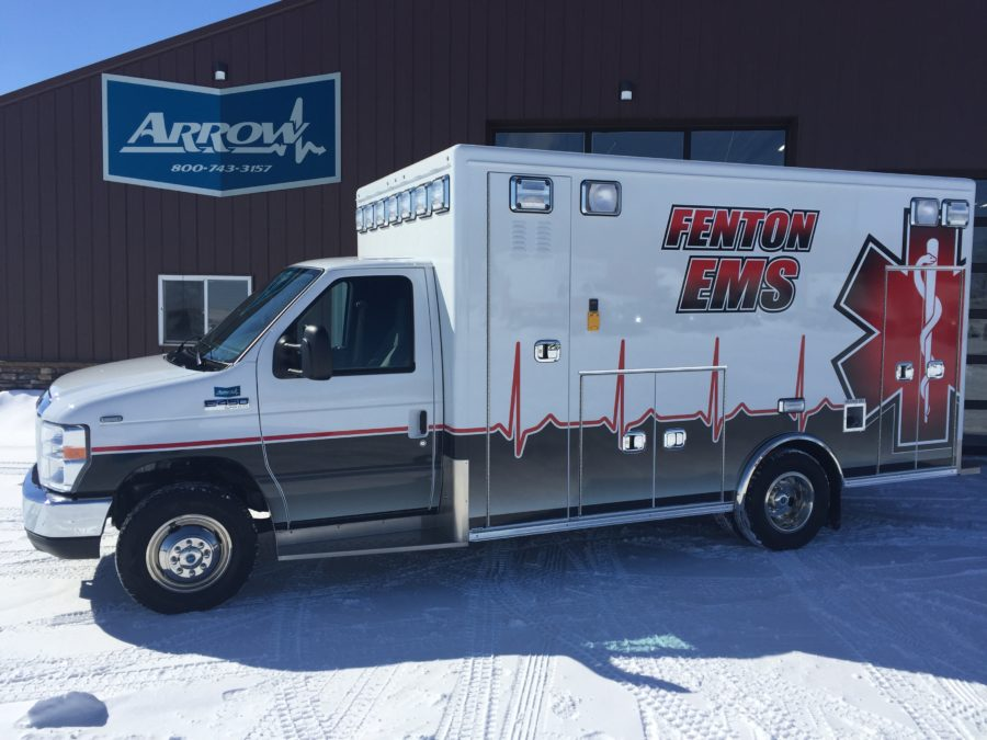 2018 Ford E450 Type 3 Ambulance