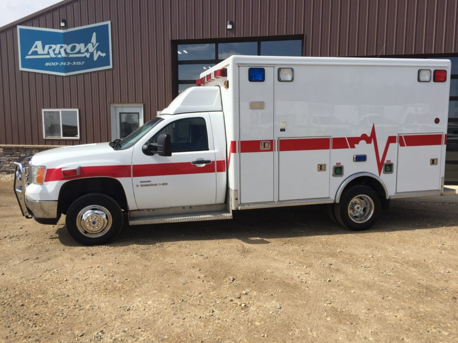 2008 GMC K3500 4x4 Type 1 Ambulance For Sale