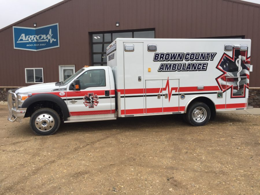 2016 Ford F450 Heavy Duty 4x4 Ambulance