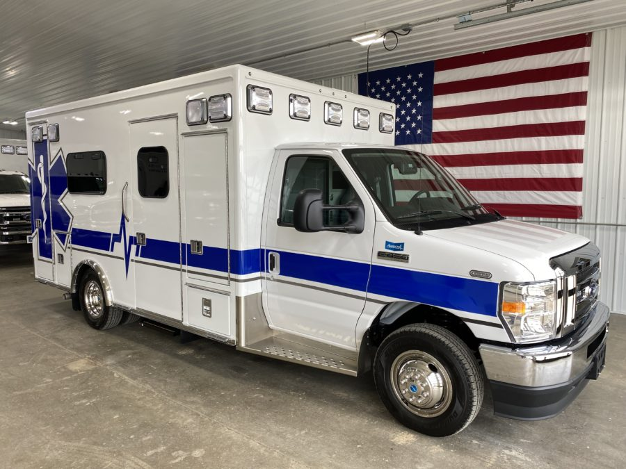 2021 Ford E450 Type 3 Ambulance For Sale – Picture 1