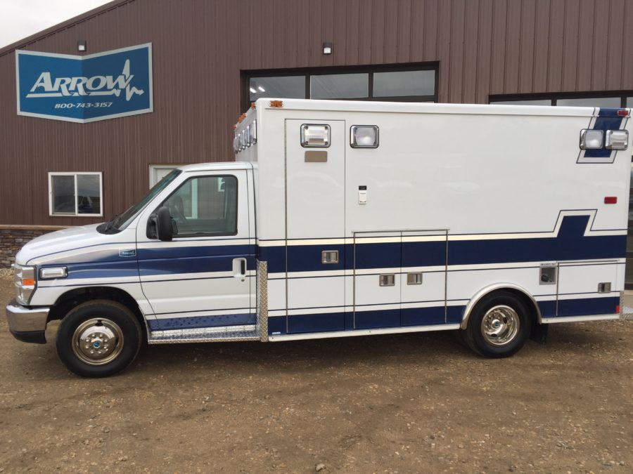 2013 Ford E450 Type 3 Ambulance delivered to Larchwood EMS in Larchwood, IA