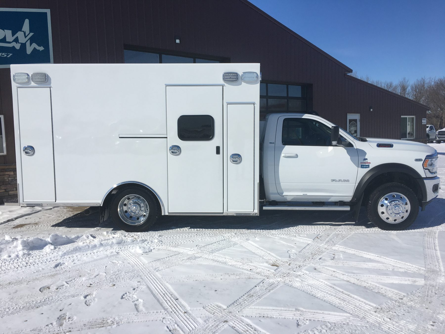 2020 Ram 4500 4x4 Heavy Duty Ambulance For Sale – Picture 3