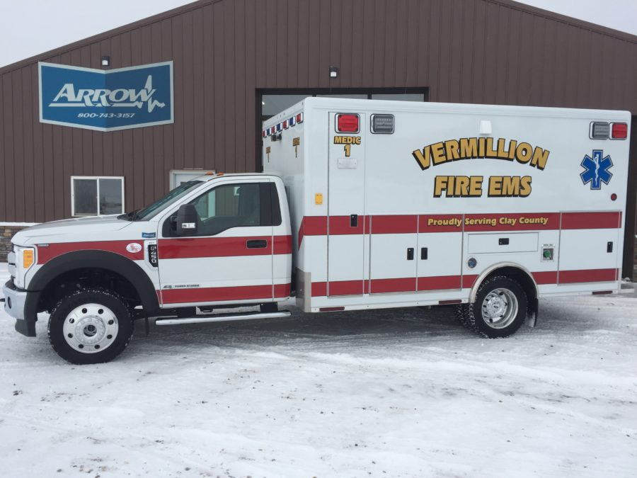 Ambulance delivered to Vermillion Fire EMS