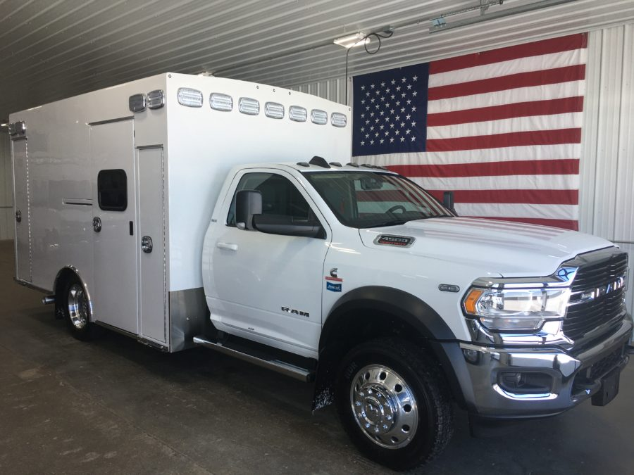 2020 Ram 4500 4x4 Heavy Duty Ambulance For Sale – Picture 1