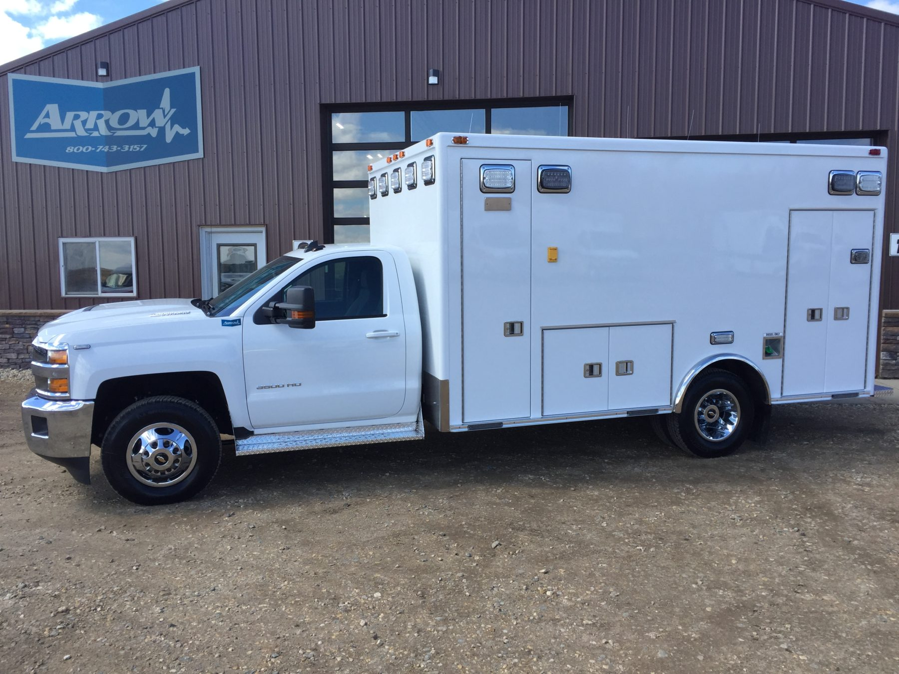 2017 Chevrolet K3500 4x4 Type 1 Ambulance For Sale – Picture 3