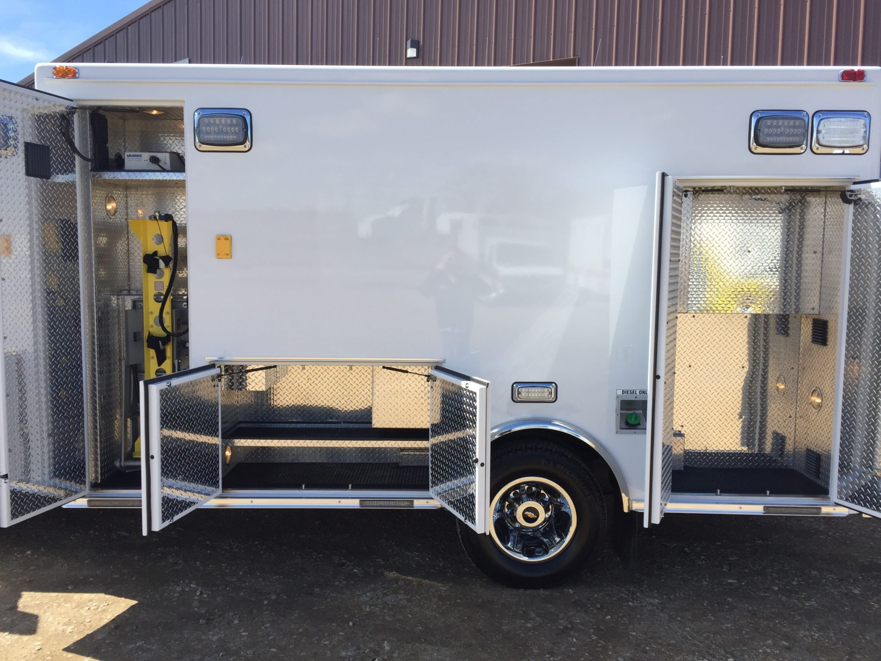 2017 Chevrolet K3500 4x4 Type 1 Ambulance For Sale – Picture 15
