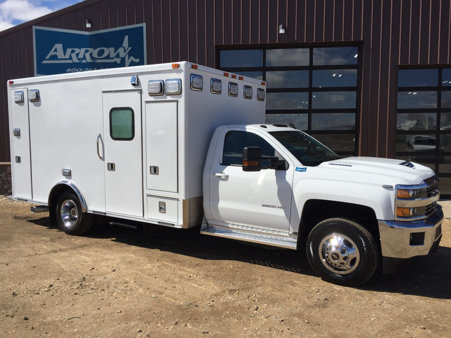 2017 Chevrolet K3500 4x4 Type 1 Ambulance For Sale – Picture 1